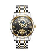 TEVISE Mechanical Watches Men Tourbillon Automatic Watch Moon Phase Lumi... - $50.27