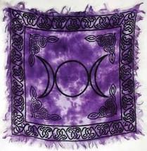 Triple Moon Altar Cloth 18 X 18  - $18.46