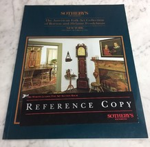 Sothebys NY American Folk Art Fendelman Collection Oct 23 1993 Auction C... - $24.18