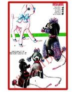 "Vintage Pattern for Stuffed Poodles 8 ""& 14""  Lamb 16"" - $9.99"