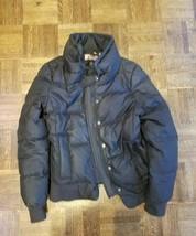Womens Juicy Black Jacket Size Medium Juicy On Back Of Collar - $48.38