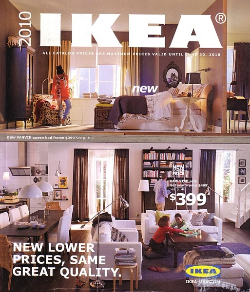 IKEA 2010 home furnishings store catalog magazine