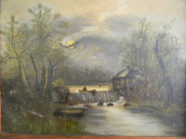 Vintage  Antique Painting on Tin - $1,400.00