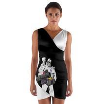 tunic top wrap dress megatro android cartoon eighties club sleeveless hot sexy  - $36.00 - $42.00