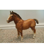 VINTAGE BREYER TRADITIONAL DRAFT CLYDESDALE FOAL HORSE  - $17.00