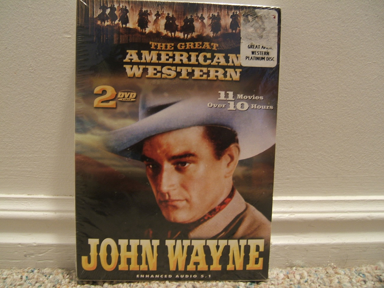 NIP-GREAT AMERICAN WESTERN 2 DVDs 11 JOHN WAYNE MOVIES