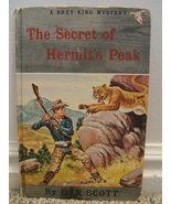 THE SECRET OF HERMIT'S PEAK-DAN SCOTT-BRET KING MYSTERY - $8.00