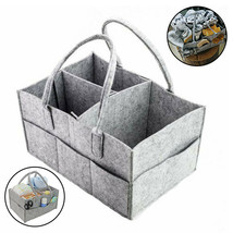 Storage Bag Compartment Diaper Wipes Caddy Infant Nappy Felt Organizer - $53.10