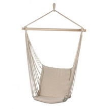 Portable Hammock, Outdoor Hammock Chair Patio Rope Cotton Hammock Chair ... - $42.05