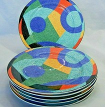 """Set of 6 Victoria Beale Casual ACCENTS 9019 Salad Plates 7.75"""" - $39.55"""