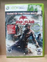 Dead Island -- Game of the Year Edition (Microsoft Xbox 360, 2012) - $9.80