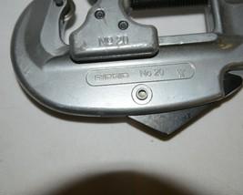 Ridgid 32935 Tubing Conduit Cutter Model 20 Tubing Conduit Heavy Duty Wheel image 2