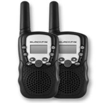 BlackFin Walkie Talkies,16 Mile Range, 22 Channels, Two-Way Radio Set, VOX - $28.95