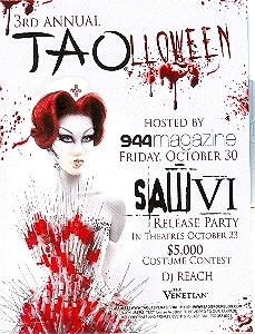 Taolloween Complimentary Admission Pass