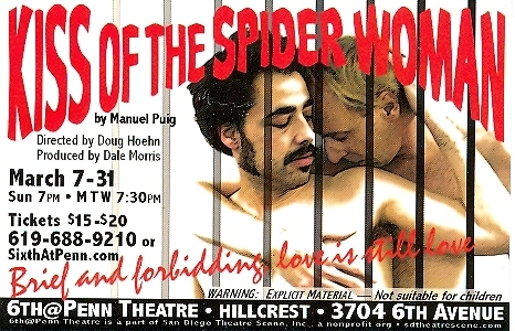 Kiss of the Spider Woman Postcard