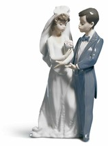 Lladro Porcelain Retired 01005885 From this day (WEDDING) Brand New in B... - $308.55