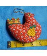 Vintage 60s-70s Partridge Bird Christmas Tree Ornament w pear design • V... - $10.84