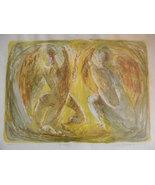 "Benton Murdoch Spruance . listed artist . ""Two Angels"" - $7,500.00"