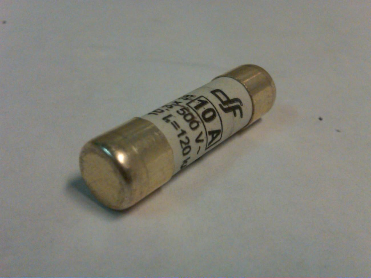 Cartridge Fuse 10A