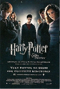 Harry Potter and the Order of the Phoenix Promo Card