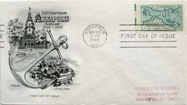 May 23, 1949 First Day of Issue, Artmaster Cover, Annapolis Tercentenary... - $2.29