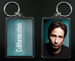 CALIFORNICATION keychain / keyring HANK MOODY David Duchovny - $7.99