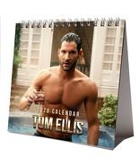 Tom Ellis Desktop Calendar 2020 NEW + FREE GIFT 3 Stickers Sexy Hot Hunk - $15.99