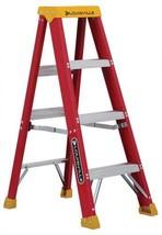 Louisville Ladder 4-Feet Fiberglass Stepladder, 300-Pound Capacity, L-30... - $109.47