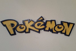 Pokemon Wall Hanging/Plaque/Custom Carved/Wall Decor/Gifts - $24.99