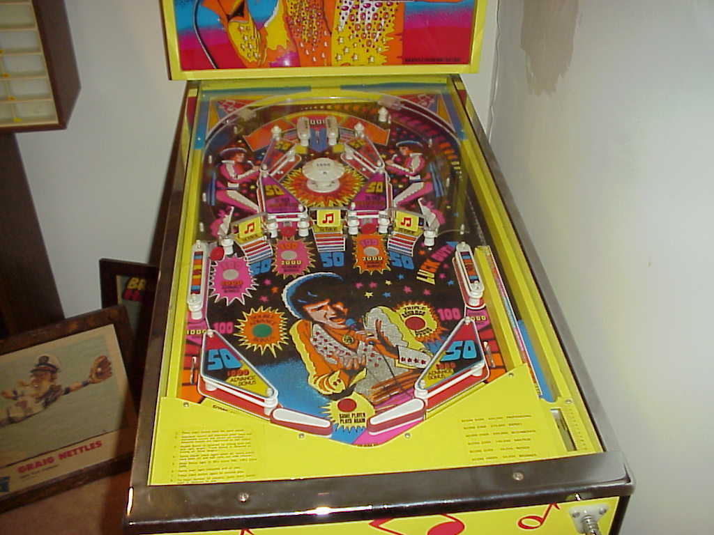 Brunswick Alive! Home Version Pinball-Elvis Presley