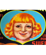 Heart! Sweet Adeline Crate Label, 1930's  - $4.89