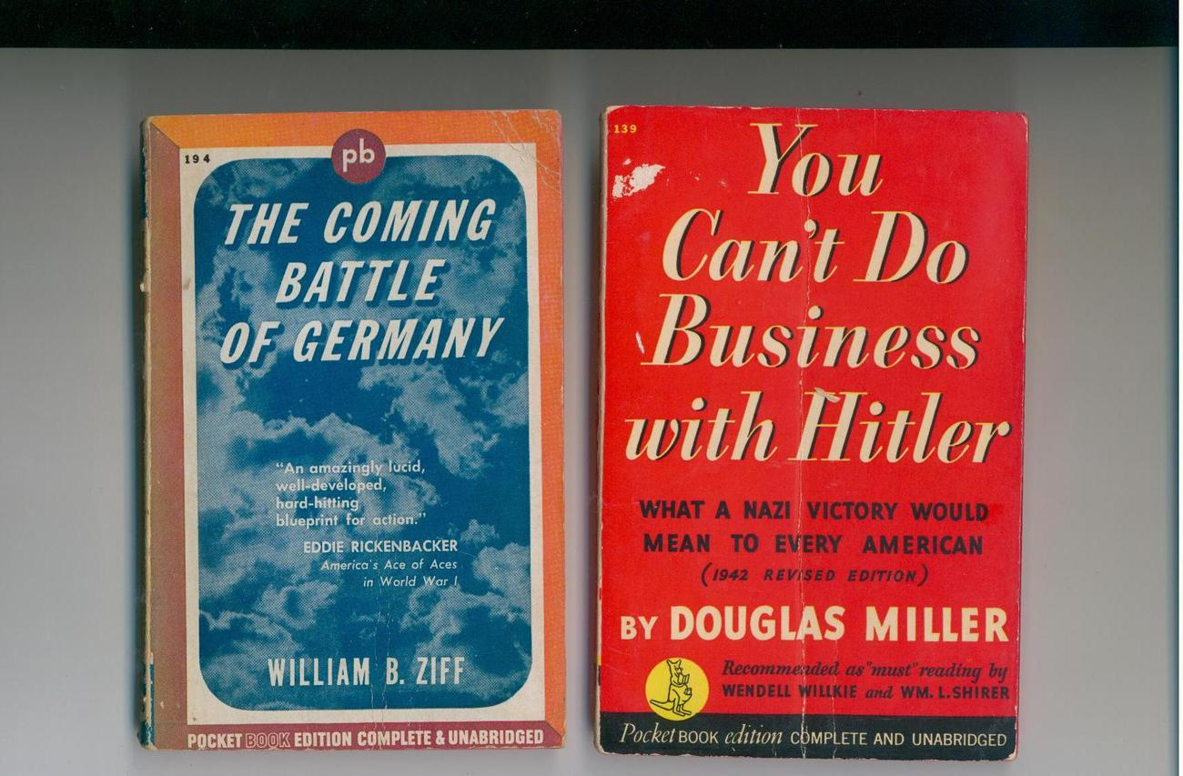 2 WWII pbs--CAN'T DO BUSINESS WITH HITLER, COMING BATTLE