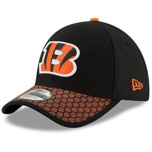 Cincinnati Bengals New Era 39Thirty Official NFL Sidelines FlexFit L/XL Cap Hat - $23.80