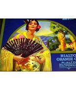 Exotic and Elegant! La Reina Crate Label, 1930's  - $4.95