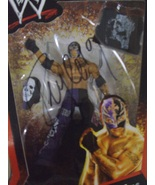 WWE Elite Collection Rey Mysterio Series 1 with Autograph Auto ( WWF TNA... - $75.00