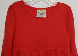 Blanks Boutique Long Sleeve Empire Waist Red Ruffle Dress Size 4T image 2
