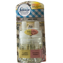 Febreze Noticeables Scented Oil Warmer Refill Dual Ginger Verbena Alluri... - $14.75