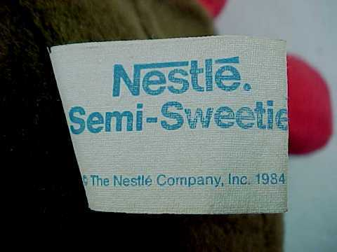 1984 Plush Nestle Morsel Family Mom Semi-Sweetie by Trudy