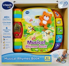 VTech 80166700 Musical Rhymes Educational Book for Babies NEW - $15.45