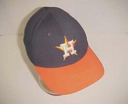 Houston Astros 2013 Team Logo MLB AL Unisex Child Youth Navy Orange Cap ... - $22.76