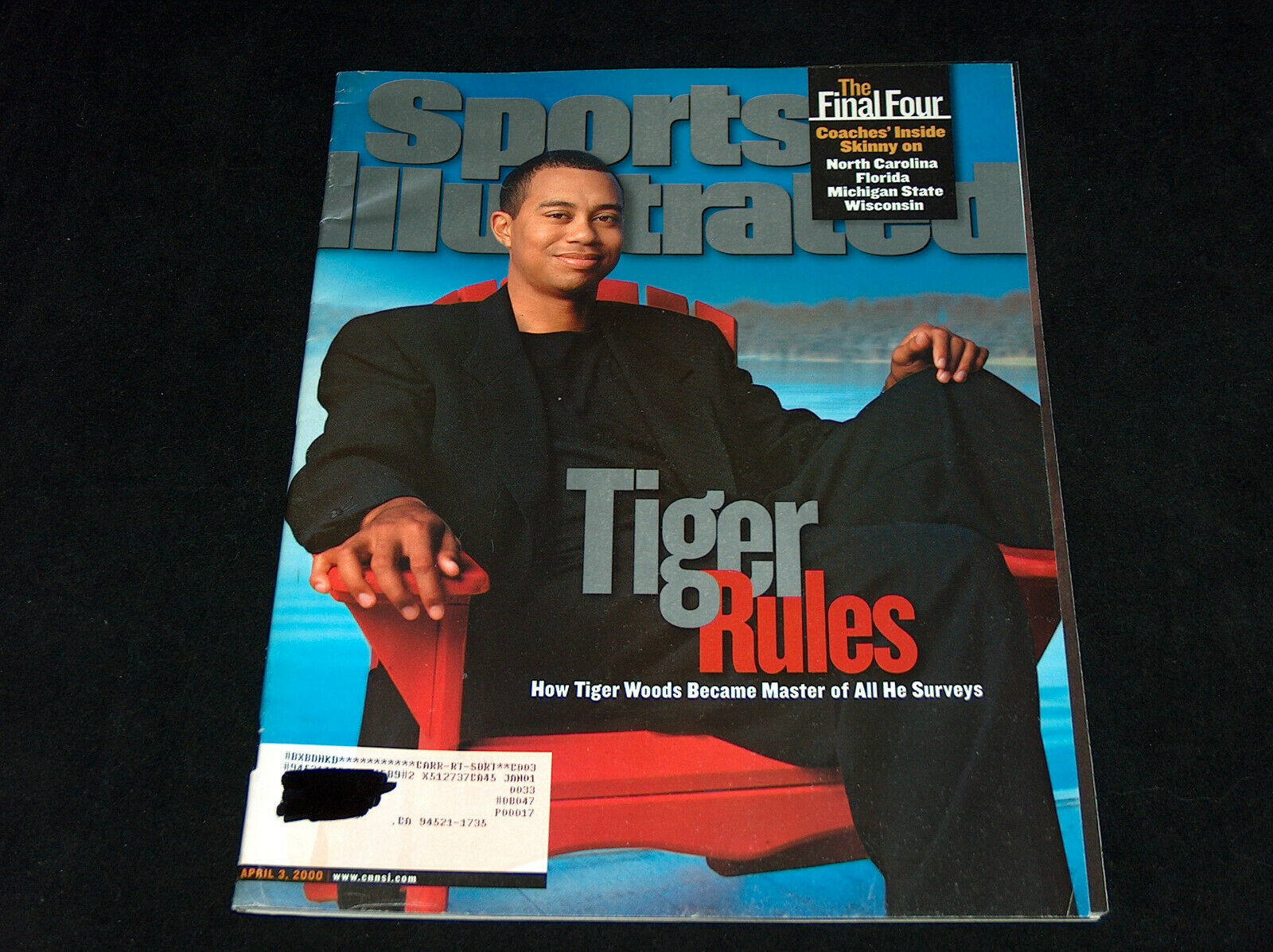 Primary image for Sports Illustrated Magazine April 3 2000 Tiger Woods Rules