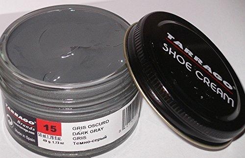 Tarrago Shoecream Jar 50Ml. Dark Gray #15