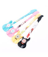 2 Pcs. Guitar Musical Ballpoint Pen + 2 Refill Cartridges School Supply ... - $178,37 MXN