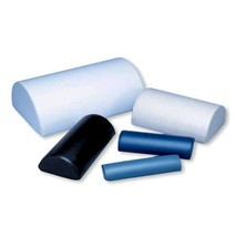 Bailey Half Roll Pillows-16'' x 24'' x 8''-Chestnut - $170.24
