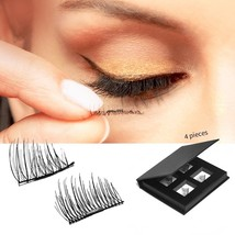 IMSTYLE Magnetic Eyelashes No Glue Reusable Fake Eye Lash Extensions Cru... - $22.09