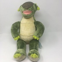 Build A Bear Dinosaur Ankylosaurus Green Plush Stuffed Animal Retired 18... - $23.22