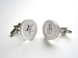 Mass Effect Cuff  Links, Engraved Paragon and Renegade Logo, Made From M... - $17.95