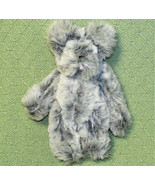 "Terry Bears Jointed TEDDY BEAR MOUSE Gray Plush Stuffed 11"" FURRY Animal... - $18.22"
