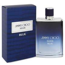 Jimmy Choo Man Blue by Jimmy Choo Eau De Toilette Spray 3.3 oz (Men) - $53.56