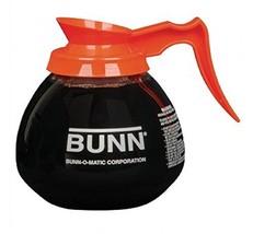 BUNN 12-Cup Glass Coffee Decanter, Orange (42401.0101) - $16.33